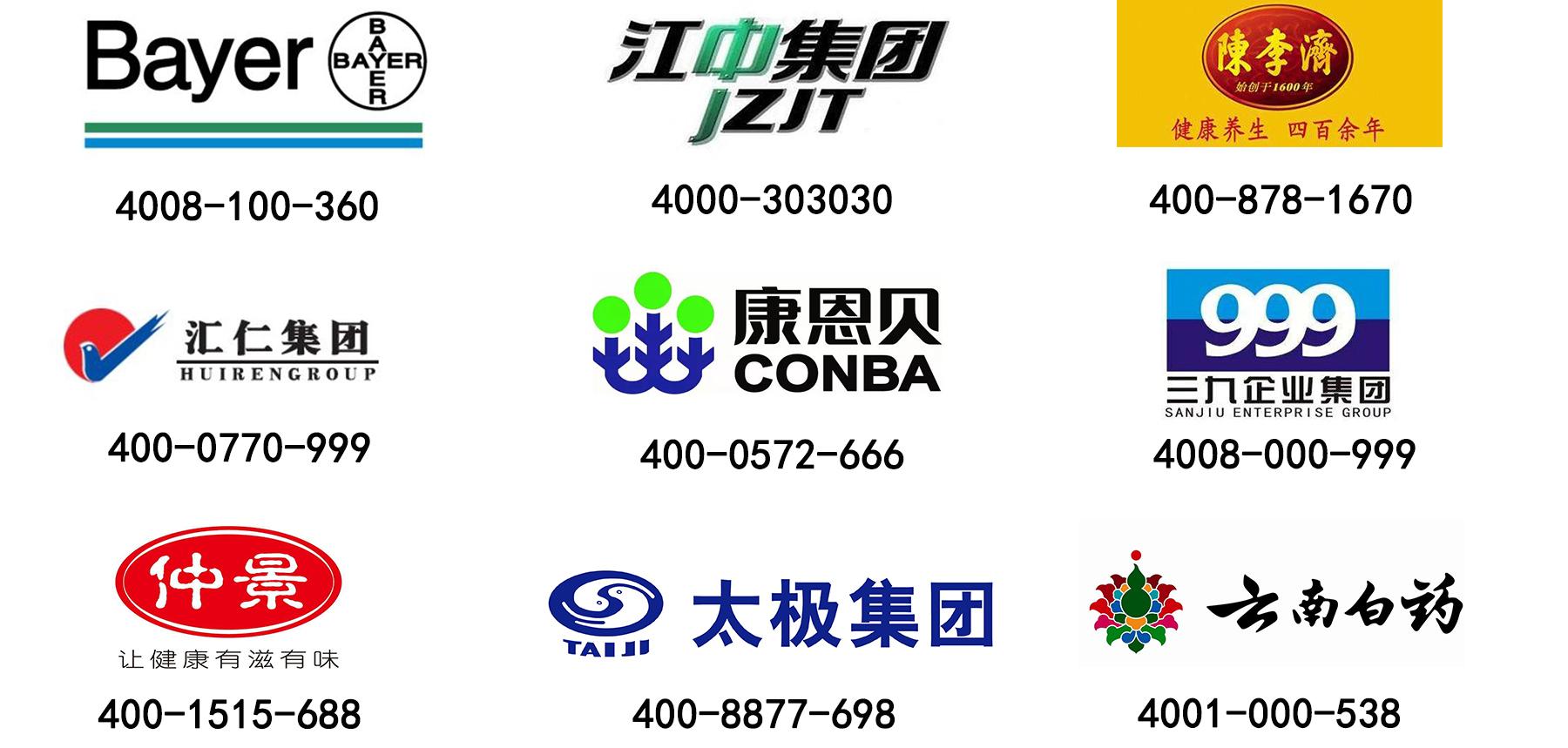 400电话医药行业应用
